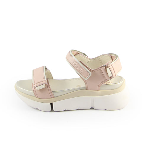 Rome Velcro Sporty Flatform Sandals (Satin)
