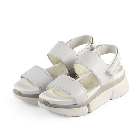 Rome Cross Straps Sporty Flatform Sandals (Vapor)