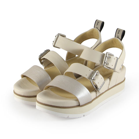 Barcelona Buckle Straps Sandals (Doeskin)