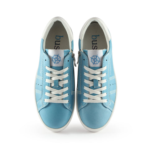 Toscana Lace-Up Sneakers (Sky)