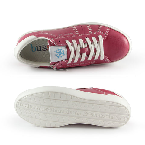Toscana Lace-Up Sneakers (Coral)