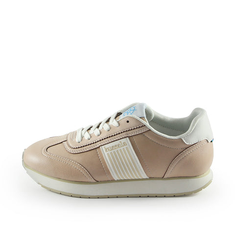 Sapporo Retro Running Sneakers (Vegan Nappa Washed Satin)