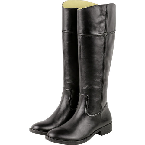Trapani Knee-High Riding Boots (Black)