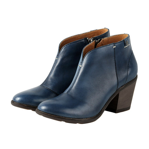 Reikiavik Ankle Booties (MIDNIGHT BLUE)