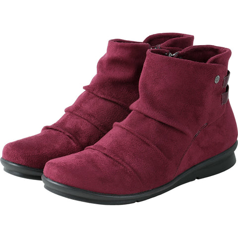 Coimbra Elastic Ankle Booties (Cabernet)