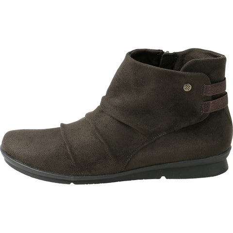 Coimbra Elastic Ankle Booties (Coffee)