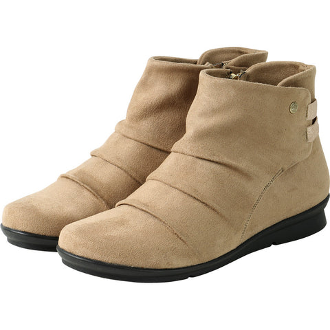 Coimbra Elastic Ankle Booties (Praline)