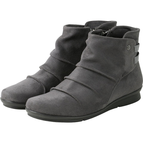 Coimbra Elastic Ankle Booties (Coal)