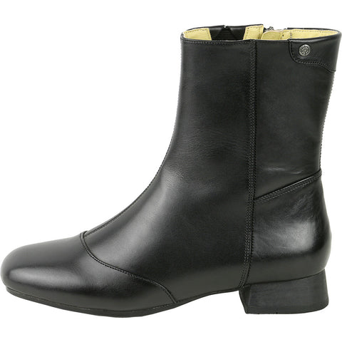 Lausanne Mid High Boots (Black)