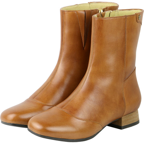Lausanne Mid High Boots (Toffee)