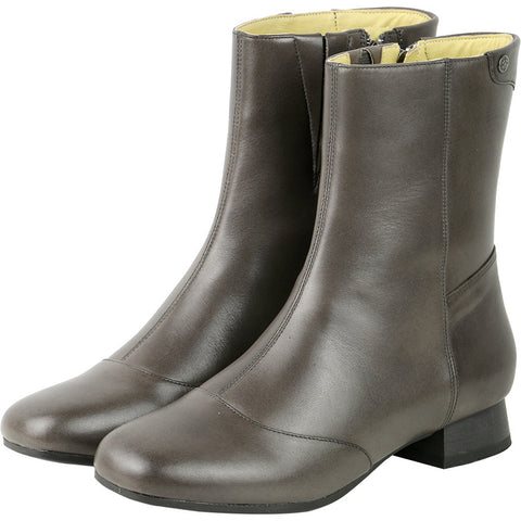Lausanne Mid High Boots (Coal)