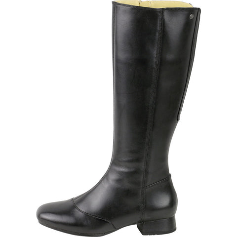 Lausanne Knee-High Boots (Black)