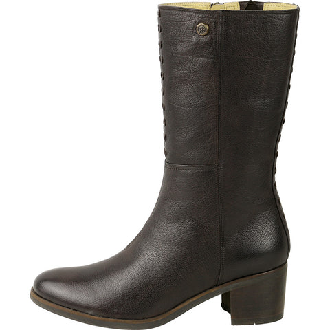 Geneve Mid-High Boots (Coffee)