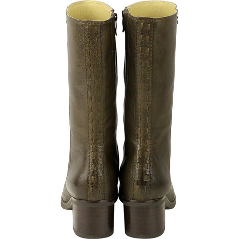 Geneve Mid-High Boots (Military)