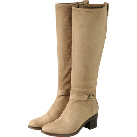 Geneve Flexible Strap Knee-high boots (Praline)