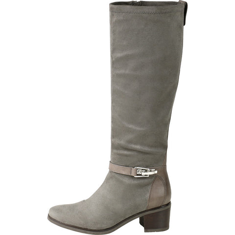 Geneve Flexible Strap Knee-High Boots (Cobblestone)