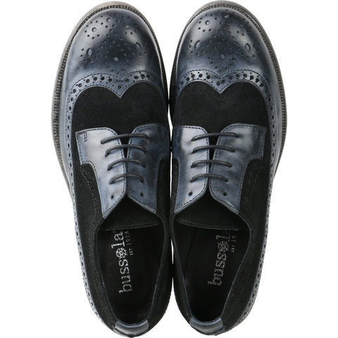 Roma Wingtip Brogue shoes (Midnight/Black)