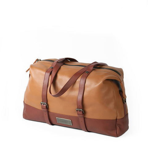 Amber Travel Bag (Toffee/Hazelnut)
