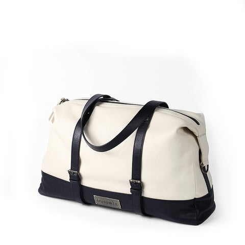 Amber Travel Bag (Paper/Black)