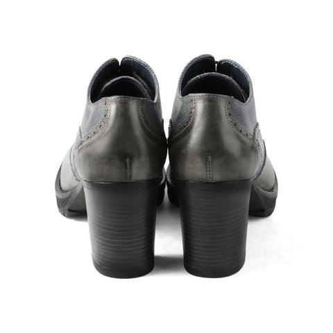 Verona High Heel Oxford (Luggage)