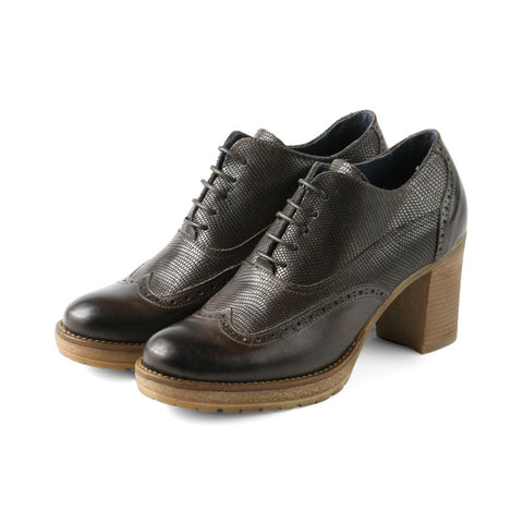 Verona High Heel Oxford (Choco)