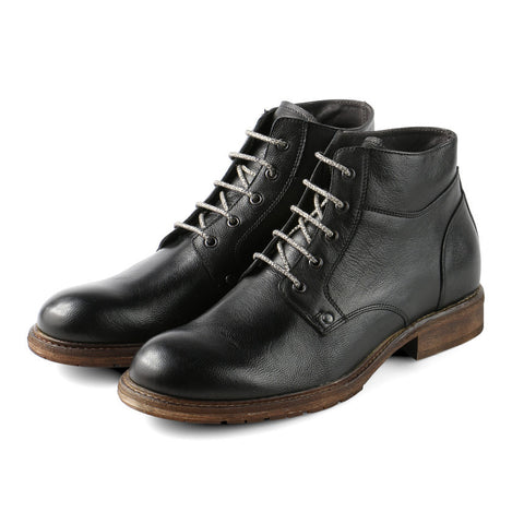 Bolzano Lace-Up Boots (Black)