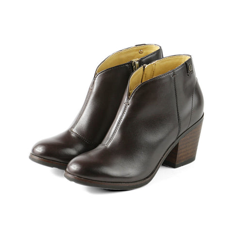 Reikiavik Ankle Booties (Coffee)