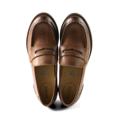 Norfolk Penny Loafers (Cognac)