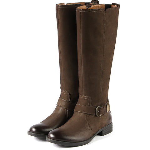 Trapani Riding Boots (Brown)