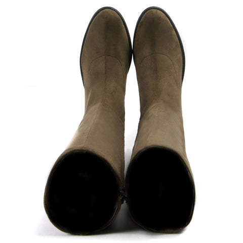 Siena Flexible Knee-High Boots (Fossil)