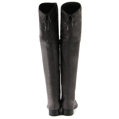 Siena Flexible Over-The-Knee Boots (Carbon)