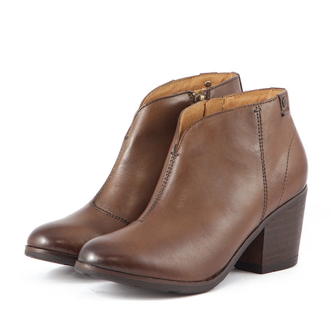 Reikiavik V-Neck Booties (Luggage)