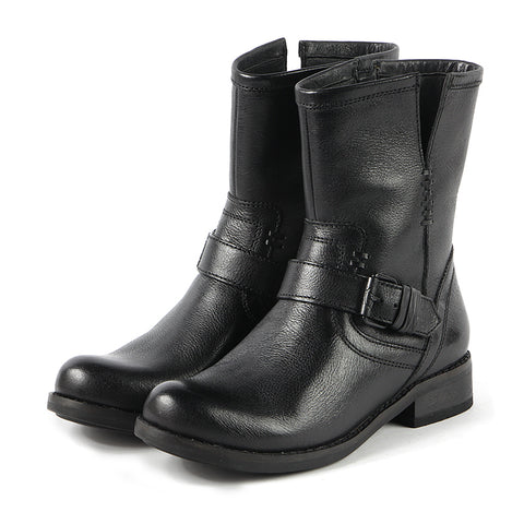 Norfolk Biker Boots (Black)
