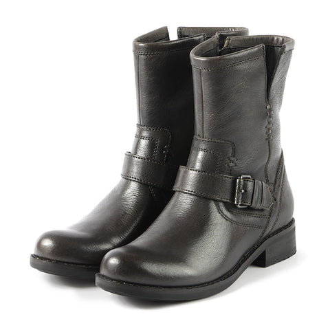 Norfolk Biker Boots (Carbon)