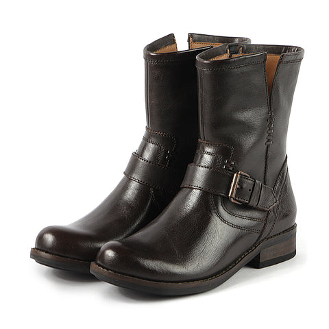 Norfolk Biker Boots (Ebony)