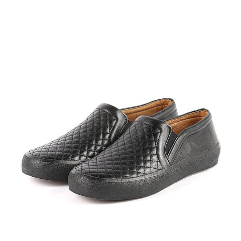 Cardiff Slip-On Sneakers (Black)