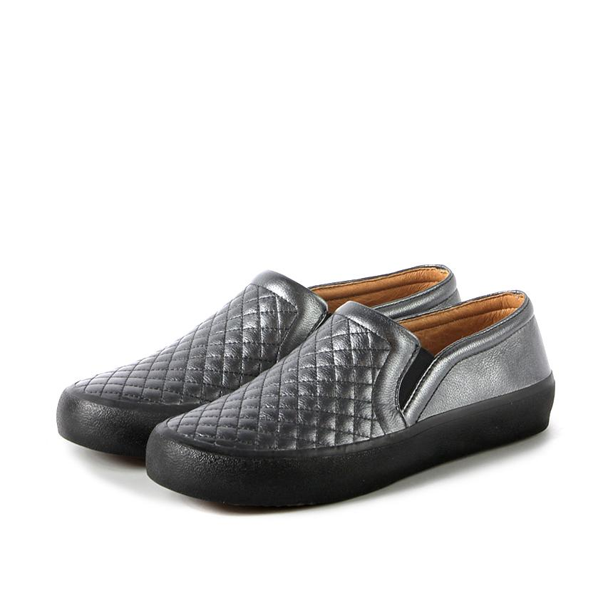 ecd3af36167e1 Cardiff Slip-On Sneakers (Pewter)