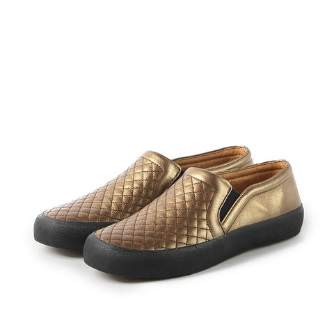 Cardiff Slip-On Sneakers (Bronze)