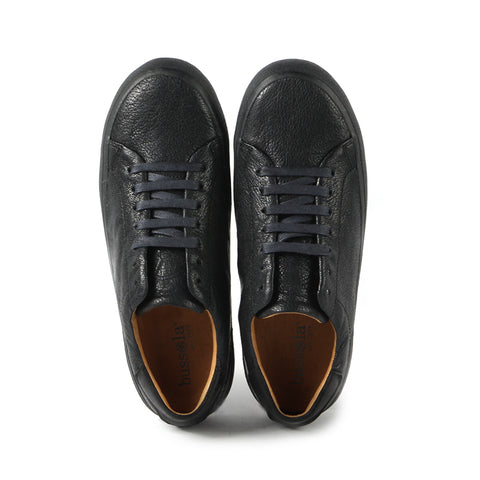 Cardiff Lace-Up Sneakers (Indigo)