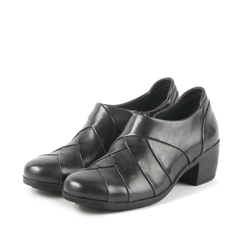 Olbia Patchwork Shooties (Black)