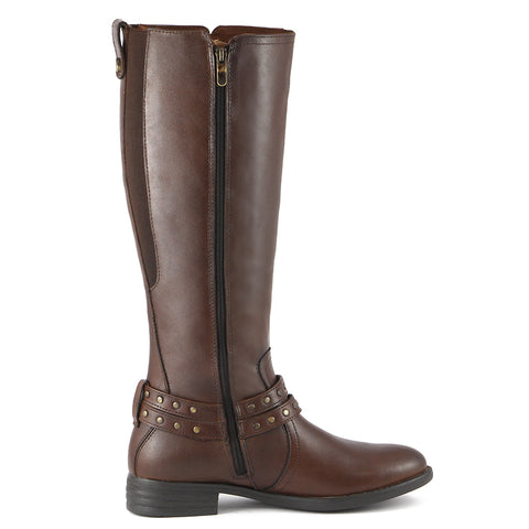 Trapani Riding Boots (Russet)