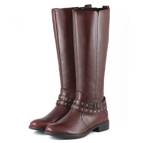Trapani Riding Boots (Wine)