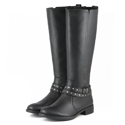 Trapani Water Repellent Riding Boots (Black)
