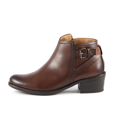 Antwerpen Straps Ankle Boots (Russet)