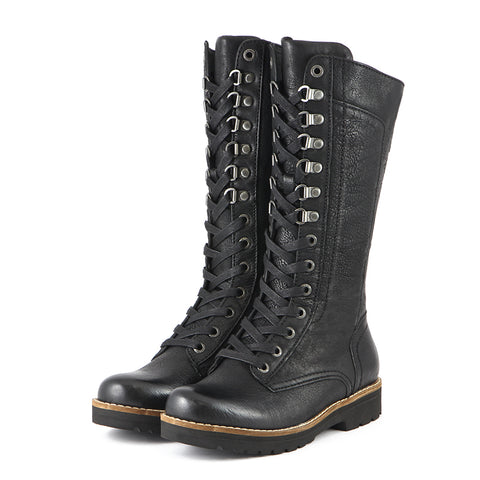 Kalahari Mountain Combat Boots (Black)