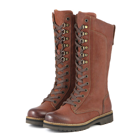 Final-Kalahari Mountain Combat Boots (Russet)