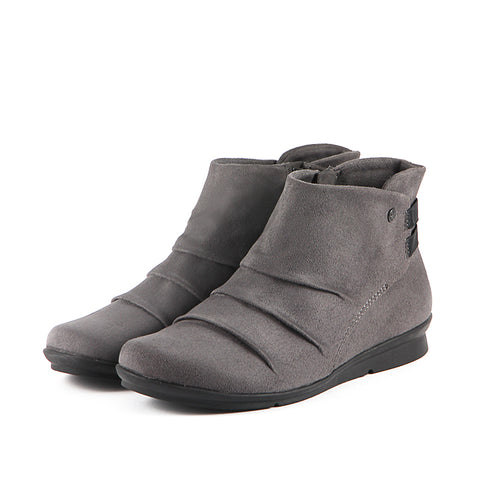 Coimbra Stretch Booties (Charcoal)