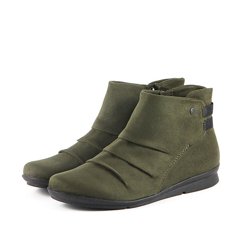 Final-Coimbra Stretch Booties (Military)