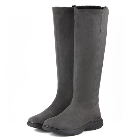 Nagoya Stretch Boots (Charcoal)