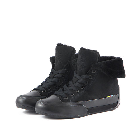 Novara High-Top Sneakers (Black)